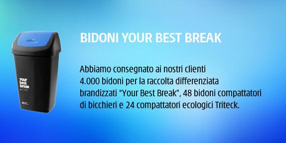 bidoni your best break - ivs italia - ivs group - ivs macchinette automatiche - distributori automatici caffé - distributori automatici bevande - distributori automatici prezzi