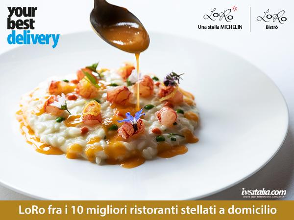 IVS Italia - Delivery - Your Best Break - Ristorante stellato LoRo